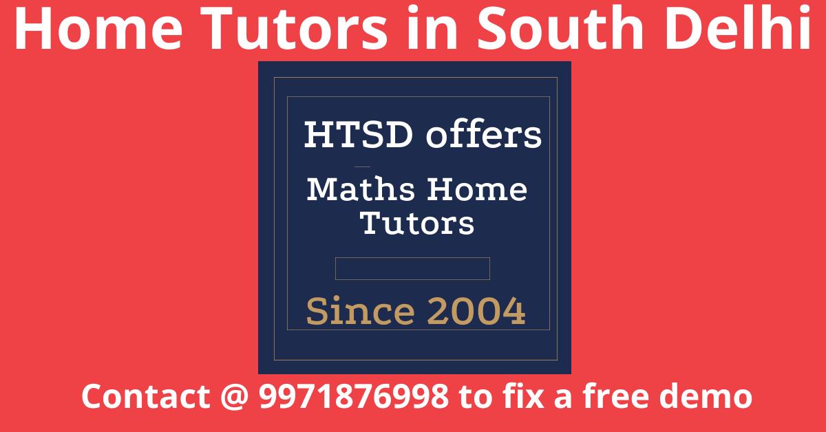 Maths home tutors