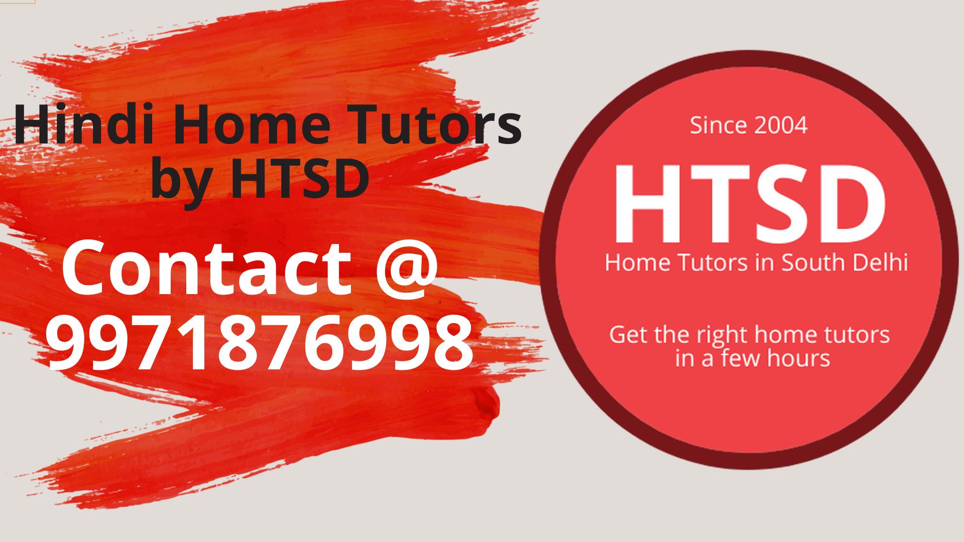 hindi home tutor