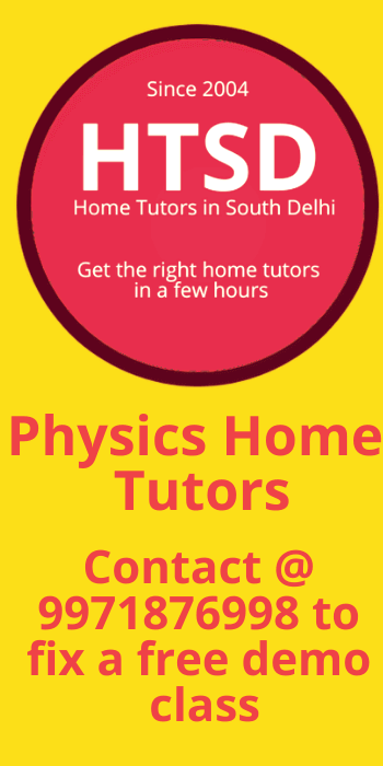 physics home tutors