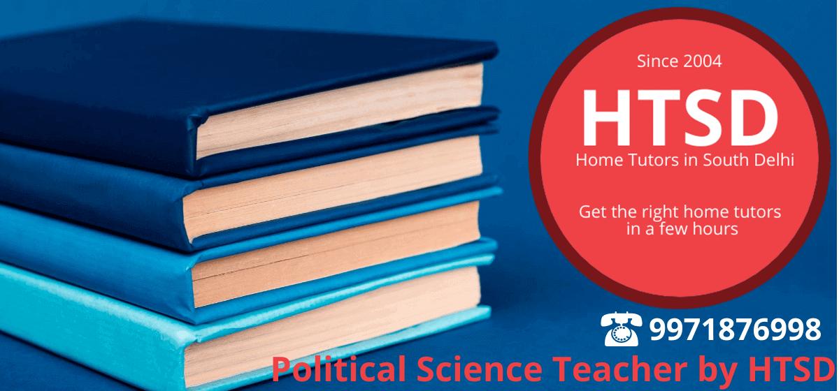 political science home tutors