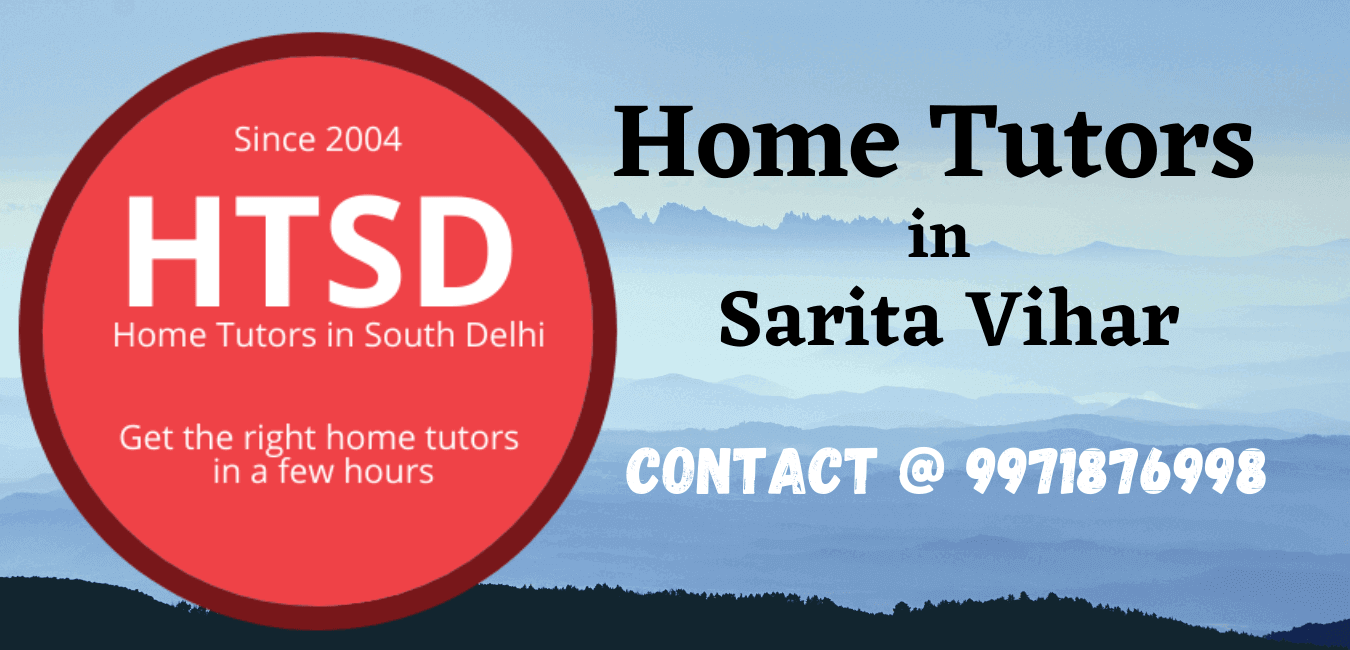 Home Tutors in Sarita Vihar