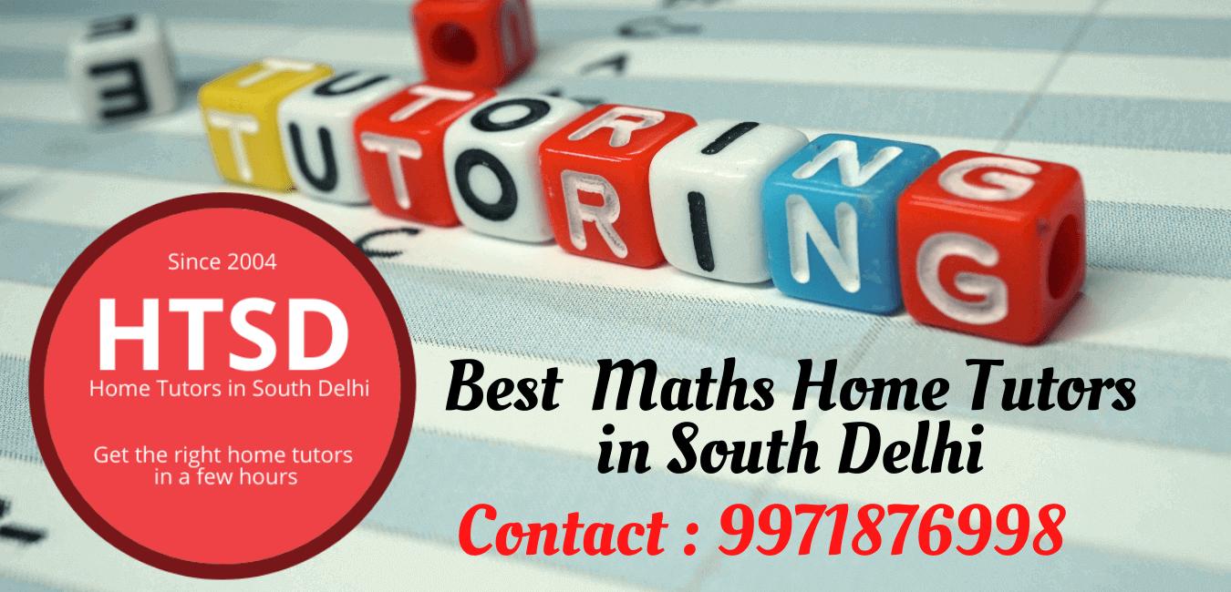 Maths Tutors in South Delhi